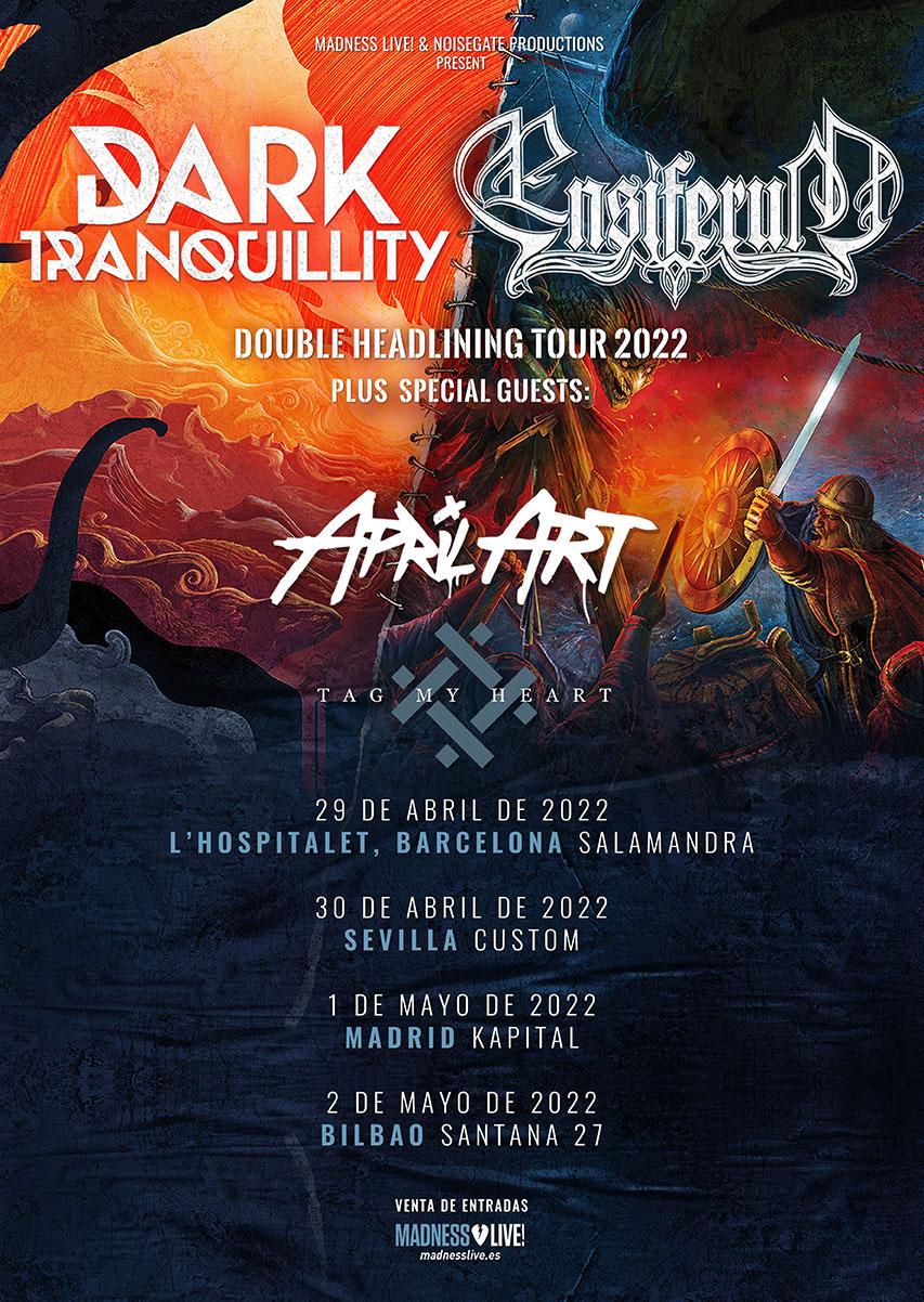 Gira De Dark Tranquillity Y Ensiferum Para La Primavera De 2022