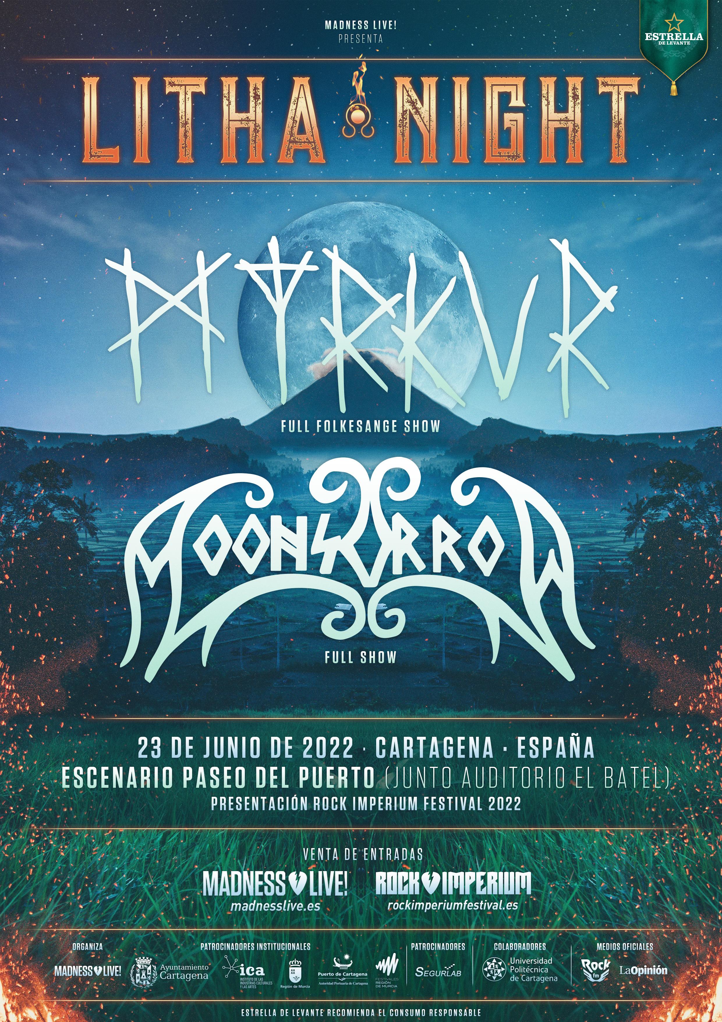 «Litha Night» En Cartagena Con Myrkur Y Moonsorrow