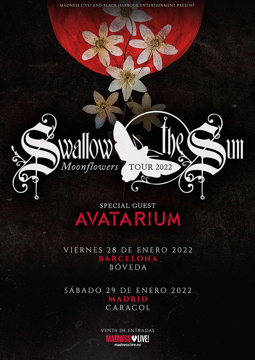 "Gira De Swallow The Sun Presentando Su Nuevo Lp ""Moonflowers"""