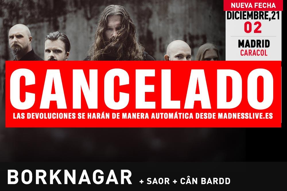 Borknagar Cancelado